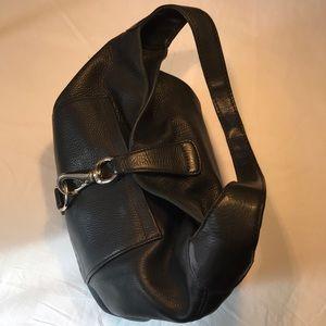 Dooney & Bourke Black Pebble Leather Purse